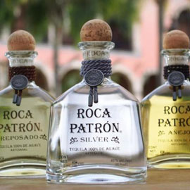 Photo: Patron Tequila Bottles