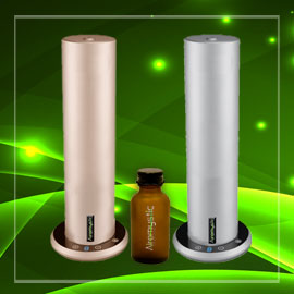 Photo: ScenTower diffusers and aroma bottle