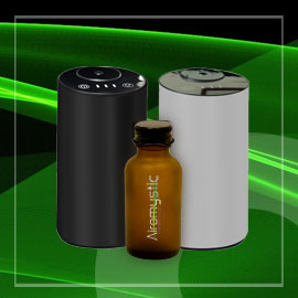 Photo: MotoAroma diffusers and diffuser oil