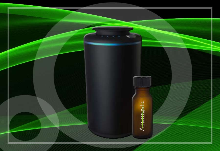 Photo: AiroMystic retail aroma diffuser and diffuser oil